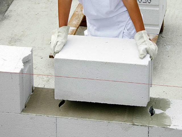 Кладка стен из газобетона: виды кладки, стоимость, нормы расхода, цены