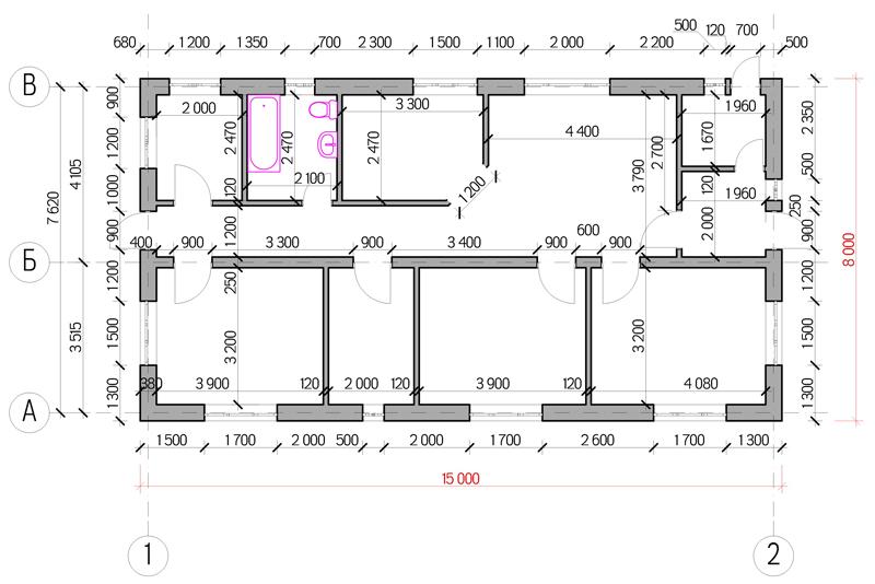 Планировка и план дома - proektabc.ru