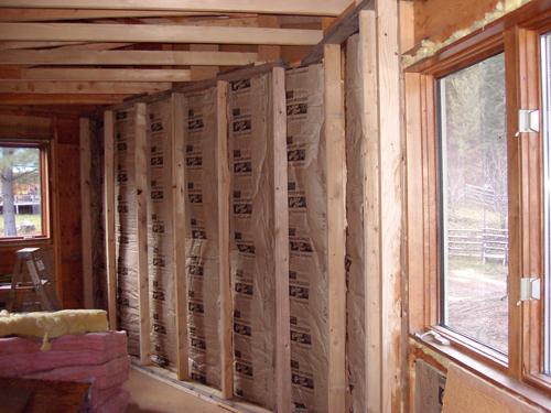 Наружное утепление стен частного дома