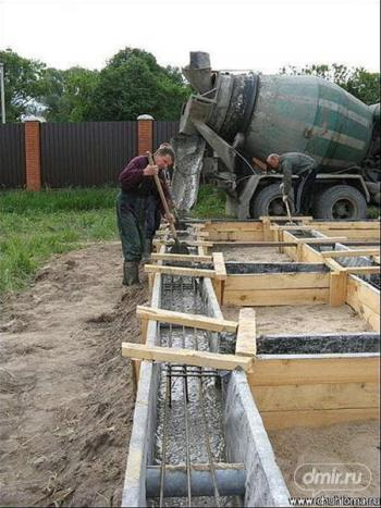 Заливка бетона миксером фибробетон панели для фасада