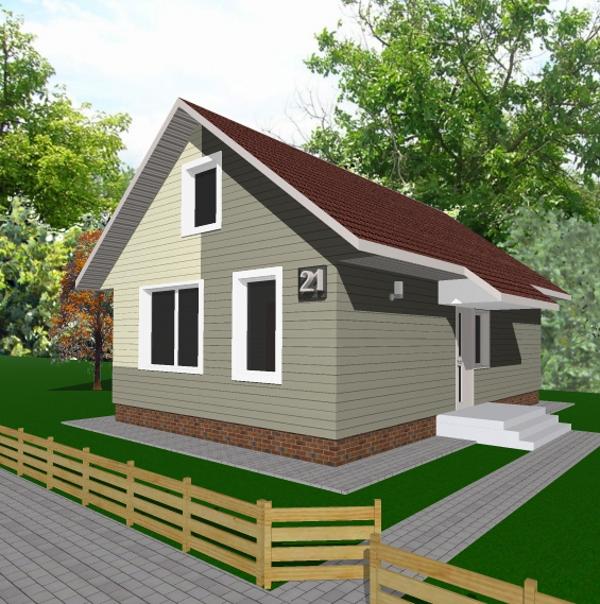 С чего построить самый дешевый дом своими руками