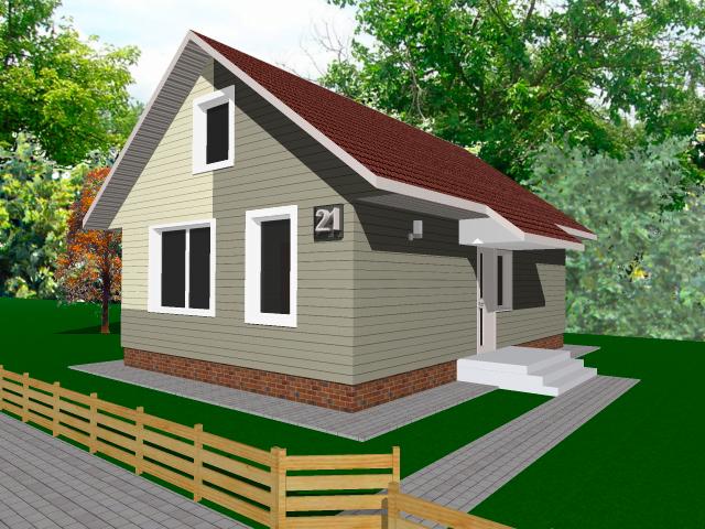 вариант 1 жилого дома