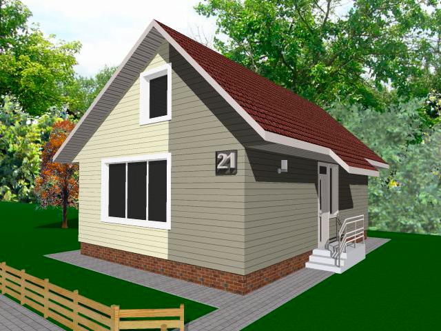 вариант 2 жилого дома