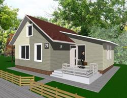 Проект самого дешёвого дома